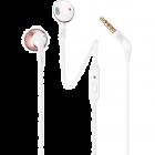 JBL T205 - Auriculares internos con micro - en oreja - cableado - conector de