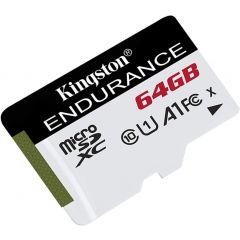 Kingston High Endurance - Tarjeta de memoria flash - 64 GB - A1 / UHS-I