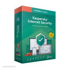 Kaspersky Internet Security - v 2019 - Licencia basica -  3 PCs - Español