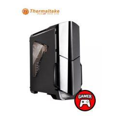 Thermaltake - CA-3D9-60M1WU-02 - Mid tower - ATX - Black gloss