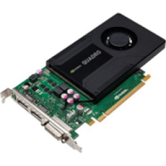 Nvidia Quadro K2000 2 Gb Gddr5 Tarjeta Gráfica (Pny Parte #: Vcqk2000-Pb)