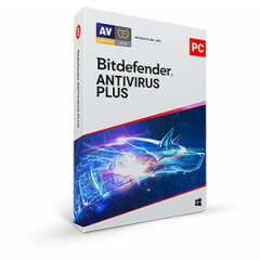 BitDefender Antivirus Plus 2020 - Base License - B11010049