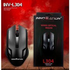 MOUSE OPTICO INNOVATION, USB, 2 BOTONES, 4000-5500dpi, INV-L304