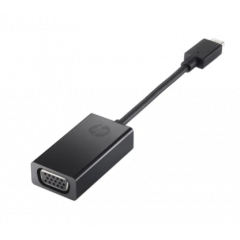 HP - Adaptador de vídeo externo - USB-C - VGA - negro - para HP