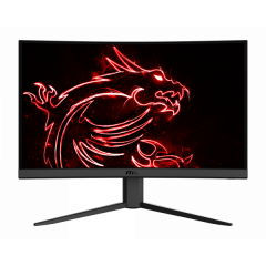 "MSI Optix G24C4 - Curved Screen - 23.6"" - 1920 x 1080 - HDMI -"