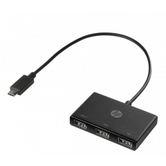 HP USB-C TO USB-A HUB Z6A00AA